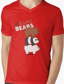 We Bare Bears - Cartoon Network Mens V-Neck T-Shirt