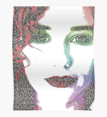 Tori Amos (with Silent All These Years lyrics) Poster