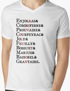 Les Amis - Revolution Mens V-Neck T-Shirt
