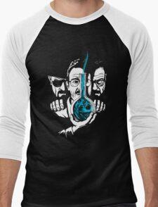 The Devil on his Shoulder Men's Baseball ¾ T-Shirt