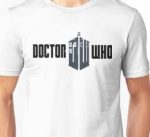 Doctor Who TARDIS Logo(Black) Unisex T-Shirt