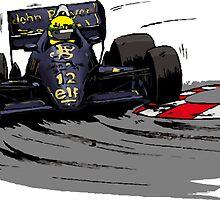 Ayrton SENNA_Lotus 98T by Cirebox