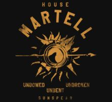 Game of Thrones House Martell by nofixedaddress