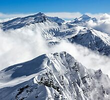 Southern Alps from TC summit by Charles Kosina