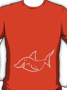sketch of shark T-Shirt