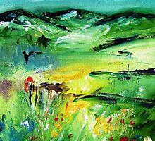 Abstract irish landscape  by artistpixi