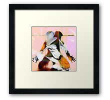 Body Language 10 Framed Print