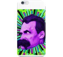 Nietzsche Burst 6 - by Rev. Shakes iPhone Case/Skin
