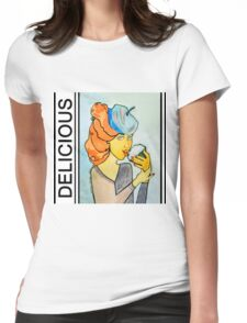 Delicious Womens Fitted T-Shirt