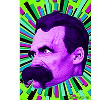 Nietzsche Burst 6 - by Rev. Shakes Photographic Print