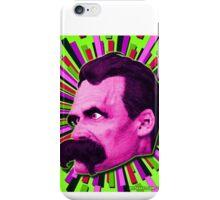 Nietzsche Burst 7 - by Rev. Shakes iPhone Case/Skin