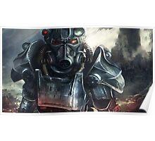 Fallout 4 Power armor wallpaper Poster
