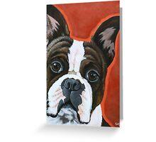 Doggy Duke Greeting Card