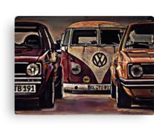 Three's company Canvas Print
