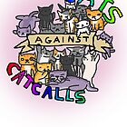 cats against cat calls by Edie Johnston