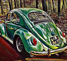 Spring Green by Sharon Poulton