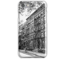 On The Street In New York iPhone Case/Skin