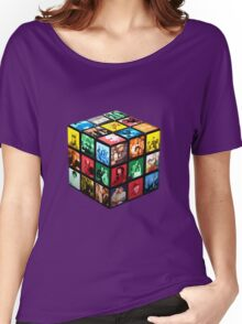 Rubik TV Women's Relaxed Fit T-Shirt