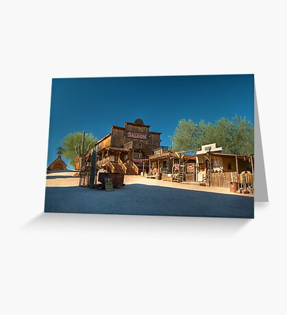 Goldfield Greeting Card