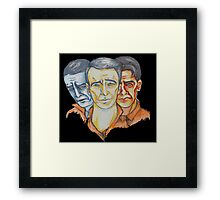 Twisted Barbershop Framed Print