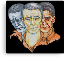 Twisted Barbershop Canvas Print