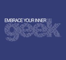 Embrace Your Inner Geek (White) by darrster