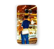 Cheese shop, Nachmarkt, Vienna, Austria Samsung Galaxy Case/Skin
