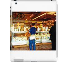 Cheese shop, Nachmarkt, Vienna, Austria iPad Case/Skin
