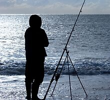 Sea Fishing Southwold by Kawka