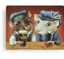 Beer Lovers Canvas Print