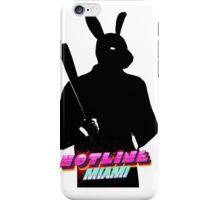 Hotline Miami Graham Silhouette  iPhone Case/Skin