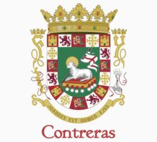 Contreras Shield of Puerto Rico Baby Tee