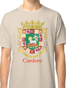 Cordero Shield of Puerto Rico Classic T-Shirt