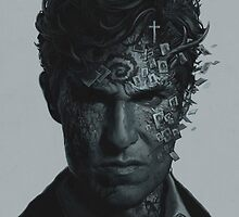 True Detective art by yurishwedoff