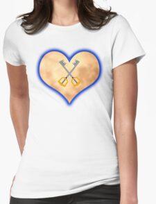 Kingdom Hearts Keys Womens Fitted T-Shirt