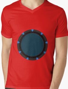 Gate  Mens V-Neck T-Shirt