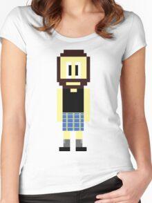 Pixel Scotsman Women's Fitted Scoop T-Shirt