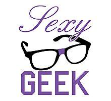 Sexy Geek Photographic Print