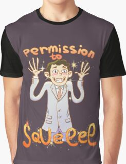 Permission to Squee Graphic T-Shirt