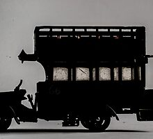 Toy Car Silhouette by clarkeface