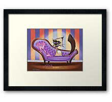 Bittersweet Chocolate Point Framed Print
