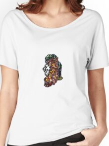 AFRICA LION MAJESTY Women's Relaxed Fit T-Shirt