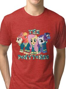 The Ponytones Tri-blend T-Shirt