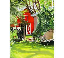 Marilyn's Yard, Tweed, Ontario Photographic Print