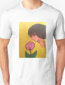 Smelling the Roses Unisex T-Shirt