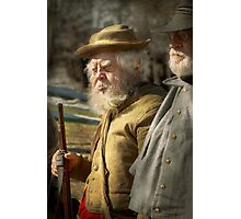 Army - A seasoned vet Photographic Print