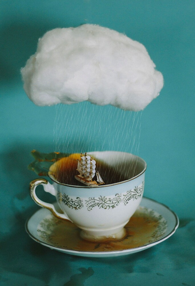 storm in a teacup no.3 by Tess Smith-Roberts