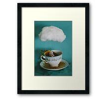 storm in a teacup no.3 Framed Print