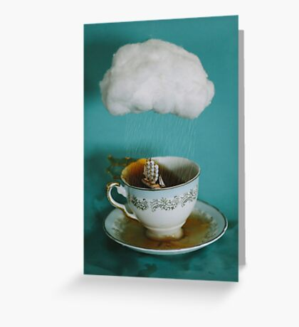 storm in a teacup no.3 Greeting Card