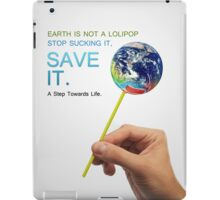 Save Earth iPad Case/Skin